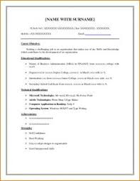 One Page Resume Sample by Free Resume Templates Book One Page Cv 1 Template Word