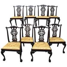 chippendale dining room chairs 72 for sale at 1stdibs