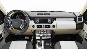 land rover chrome land rover range rover sport 2006 2009 basic interior dash kit