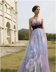 purple wedding dress celebrity wedding addict purple and white