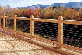 Decking Banister Diy Cable Railing System Stainless Cable Railing