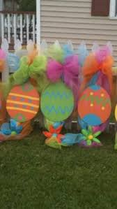 Plastic Easter Egg Yard Decorations by Easter Eggs Outdoor Wood Yard Art Lawn By Mikesyarddisplays