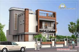 2 floor front elevation and elevations of residential buildings in