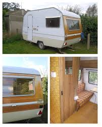 Caravan Interiors My Little Vintage Caravan Project A Fresh Start With A New Look