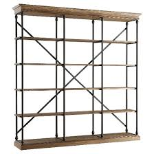 Bookcase Wide Belvidere 5 Shelf Wide Bookcase Black Homelegance Target