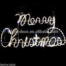 wall mounted outdoor christmas lights merry christmas letter light decorative wall mounted motif