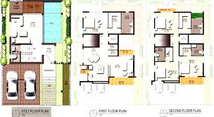 modern home blueprints architectures modern home plans with pool modern house plans