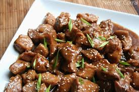 Main Dish With Sauce - the nesting corral braised pork in sweet soy sauce