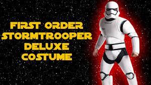 boba fett costume spirit halloween rubies first order stormtrooper deluxe costume youtube