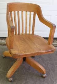 Swivel Desk Chair Without Wheels by Karpen Chittenden U0026 Eastman Square Brand Oak Swivel Desk Chair On