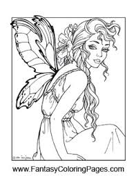 fairy coloring pages u2013 fantasy coloring pages