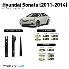 hyundai sonata led interior package 2011 2014