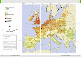 Map Of The European Union by Atlas Of Soil Biodiversity Esdac European Commission