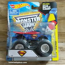 monster jam truck specs superman monster truck model trucks hobbydb