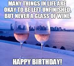 Birthday Wine Meme - happy birthday wine zipusin co