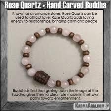 rose quartz bead bracelet images Rose quartz buddha yoga chakra bracelet jpg