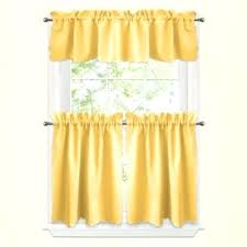 Yellow Kitchen Curtains Valances Yellow Kitchen Curtains Babca Club