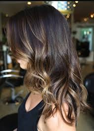 long brown hairstyles with parshall highlight best 25 partial balayage ideas on pinterest balayage hair