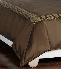 Gold Duvet Set Luxury Bedding By Eastern Accents Anthemion Brown Gold Duvet Cover