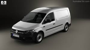 volkswagen van 2015 360 view of volkswagen caddy maxi panel van 2015 3d model hum3d