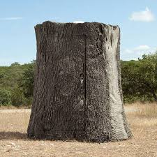 Tree Trunk Hunting Blind Nature Blinds Tree Blind