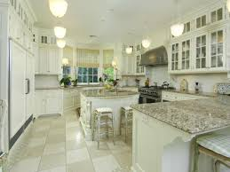 stunning kitchens design with white cabinets and granite