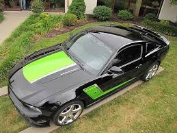 Mustang Black And Green 2012 Ford Mustang Gt Roush Stage 3 For Sale In Springfield Mo