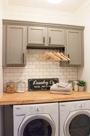 bathroom cabinet with built in laundry her modern farmhouse laundry room reveal farmhouse laundry rooms