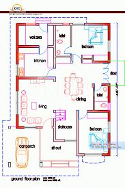 three bedroom ground floor plan uncategorized 3 bedroom ground floor plan unusual in beautiful