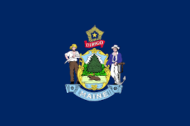 Maine State Usa Map by Maine Wikipedia