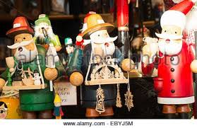 german christmas decorations german christmas ornaments stock