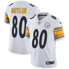 Pittsburgh Jack Womens Youth Jack Butler Jersey Steelers Gold Black Authentic