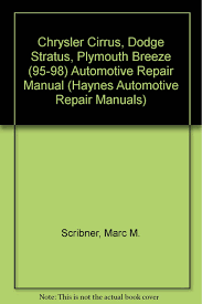 chrysler cirrus dodge stratus plymouth breeze automotive repair