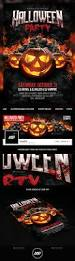 halloween flyer template club flyers and banner template