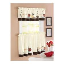 Butterfly Kitchen Curtains by Better Homes And Garden Embroidered Butterfly Window Tier Set Aqua