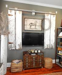 Half Barn Door by My Romantic Prairie Home Barn Doors In The Den