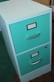 Turquoise Cabinet File Cabinet Re Do View From The Fridgeview From The Fridge