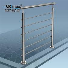Buy Banister Mirror Satin Surface Ss304 Handrail Railing System Parts