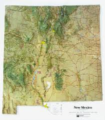 New York Relief Map by Maps Update 500592 New Mexico Travel Map U2013 Maps Update 800832