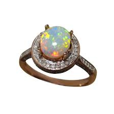 opal and diamond engagement rings opal and diamond ring vibrant colors flashopal
