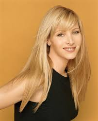 lisa kudrow long straight hair with side bangs love her hair