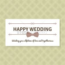 happy wedding wishes happy wedding wishes vector image 1791557 stockunlimited