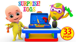 kids toys tool kit toy for children unboxing surprise eggs