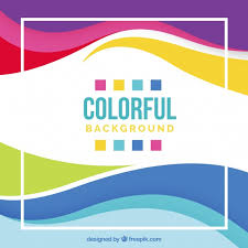 colorful background design vector free download