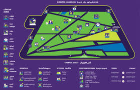 Doha Qatar Map Everything You Need To Know About Qiff 2017 Qatar Eating