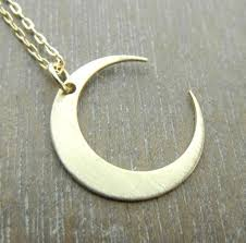 necklace moon gold images Gold moon necklace midnight in gold crescent gold filled jpg