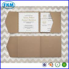 60 large ribbed kraft pocket fold envelopes rustic wedding