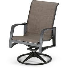 Swivel Outdoor Patio Chairs Telescope Casual Momentum Sling Patio Swivel Rocker Dining Arm