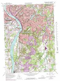 Springfield Map Springfield South Topographic Map Ma Ct Usgs Topo Quad 42072a5