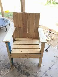 Outdoor Patio Pallet Furniture - patio pallet chair u2022 1001 pallets